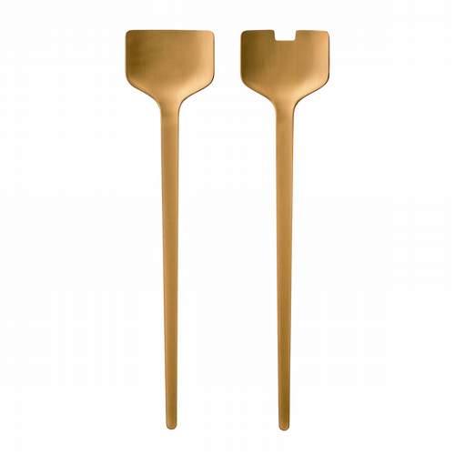 Brass Salad Servers - Set of 2